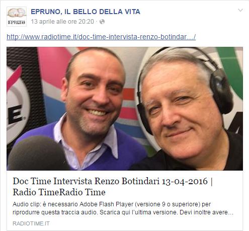 "Facebook - ""Doc Time"" su Radio Time"